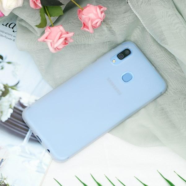 Ốp lưng Galaxy A30 Nhựa dẻo Matte Solid OSMIA Nude