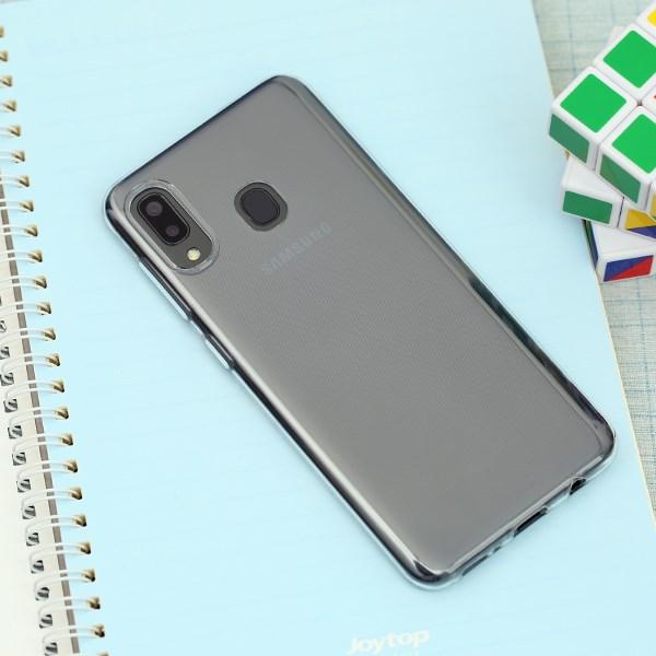 Ốp lưng Galaxy A30 nhựa dẻo Nake Slim JM Nude