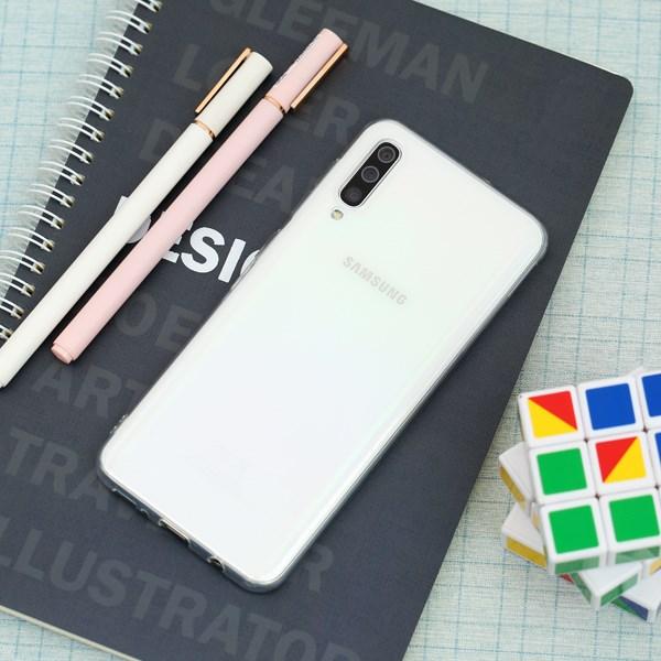 Ốp lưng Galaxy A50 /A50s nhựa dẻo Nake Slim JM Nude