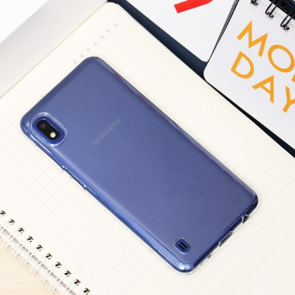 Ốp lưng Galaxy A10 nhựa dẻo Nake Slim JM Nude