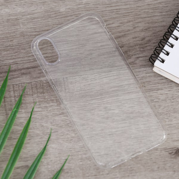Ốp lưng iPhone X/Xs nhựa dẻo Nake Slim JM Nude