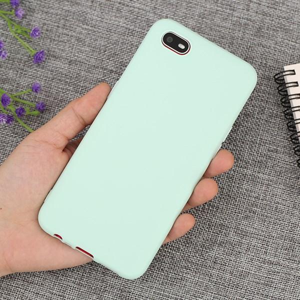 Ốp lưng Oppo A1k nhựa dẻo Matte Candy JM Mint
