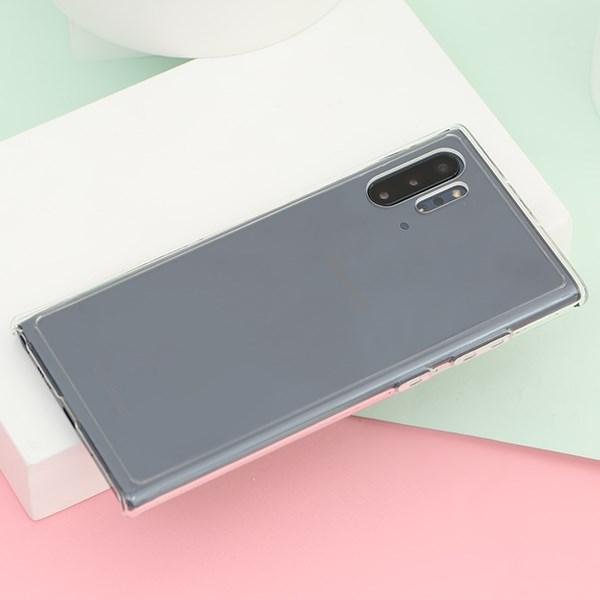 Ốp lưng Galaxy Note 10 Plus nhựa cứng viền dẻo Pure Crystal JM trong suốt