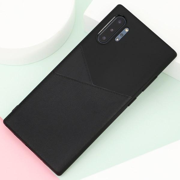 Ốp lưng Galaxy Note 10 Plus nhựa dẻo Suture TPU COSANO Đen