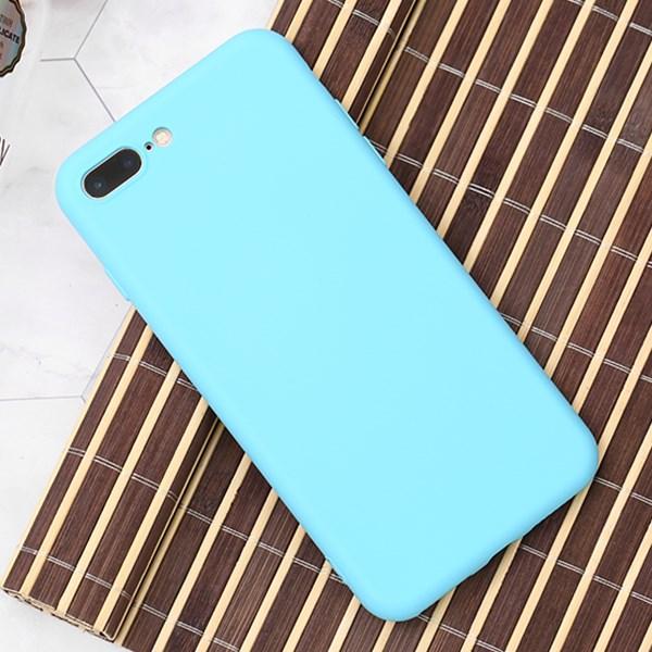 Ốp lưng iPhone 7/8+ Nhựa dẻo Silicone Felt COSANO Xanh biển