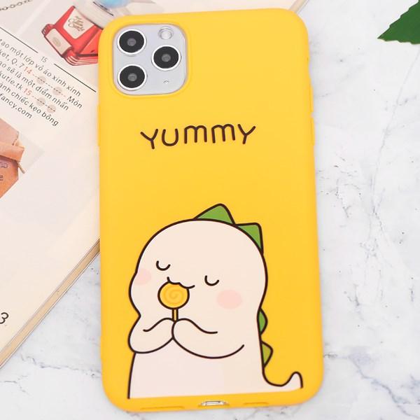 Ốp lưng iPhone 11 Pro Max Nhựa dẻo UV OSMIA CKTG903 Yummy Vàng