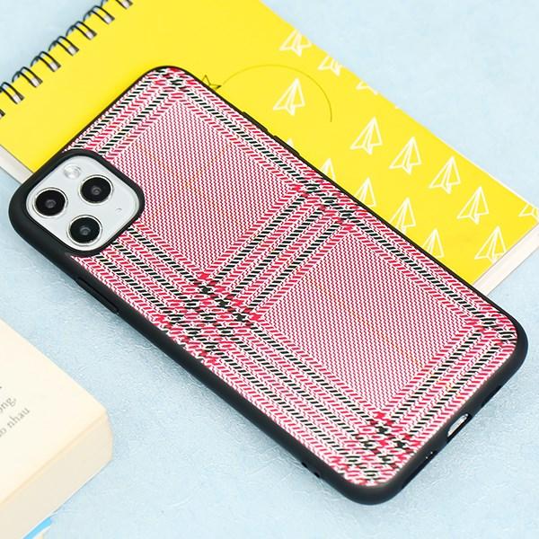 Ốp lưng iPhone 11 Pro Max Nhựa dẻo UV printing OSMIA CKM408 Sọc đỏ
