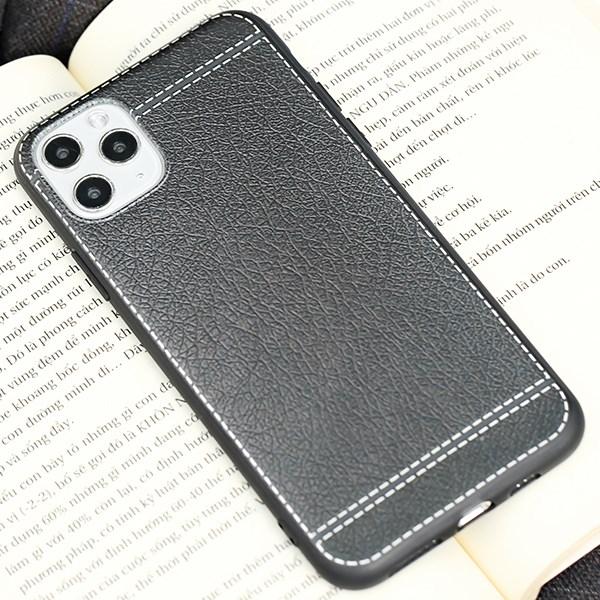 Ốp lưng iPhone 11 Pro Max Nhựa dẻo UV printing OSMIA CKM331 Vân Đen
