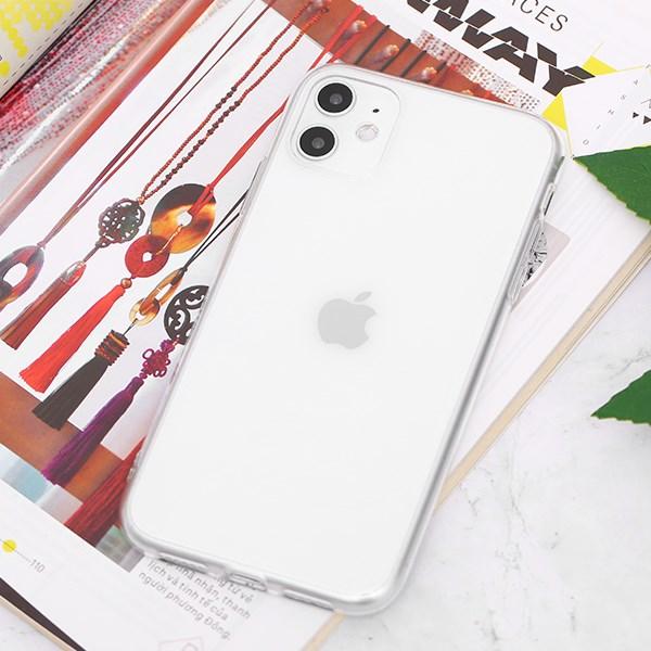Ốp lưng iPhone 11 Nhựa dẻo Slim TPU OSMIA Nude