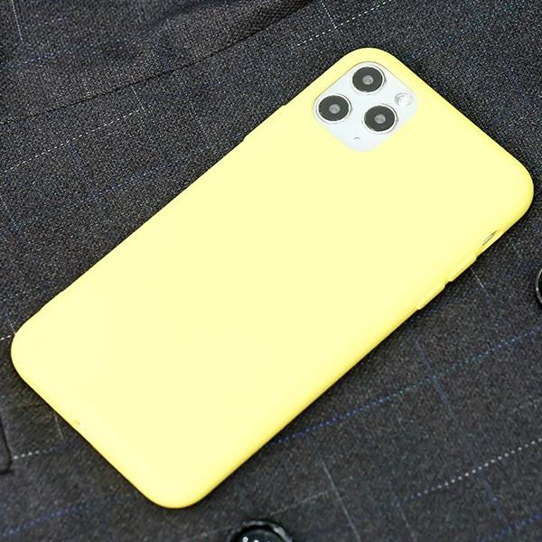 Ốp lưng iPhone 11 Pro Max Nhựa dẻo Silicone Felt COSANO Vàng