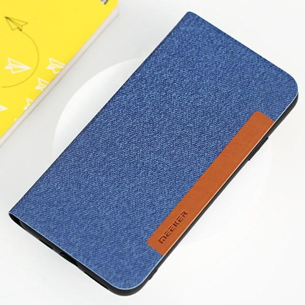 Ốp lưng iPhone 11 Pro Max Nắp gập Flip TKSF1005 MEEKER Jean Navy