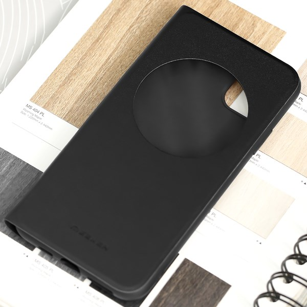 Ốp lưng iPhone 11 Pro Max Nắp gập Techflip VI MEEKER Đen