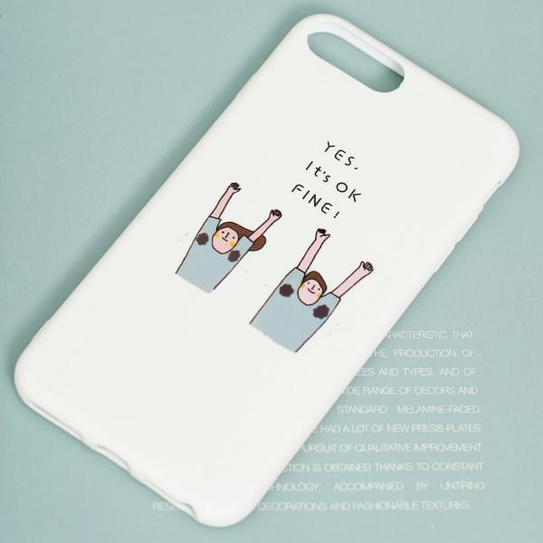 Ốp lưng iPhone 7/8+ Nhựa dẻo Water printing TPU MEEKER TSKB277 OK fine