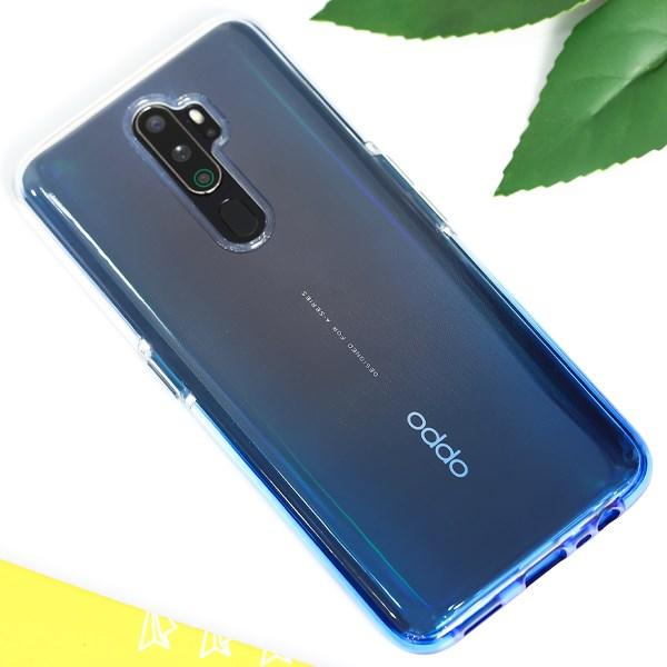 Ốp lưng Oppo A9 Nhựa dẻo Dual color TPU TKS-507 MEEKER Xanh