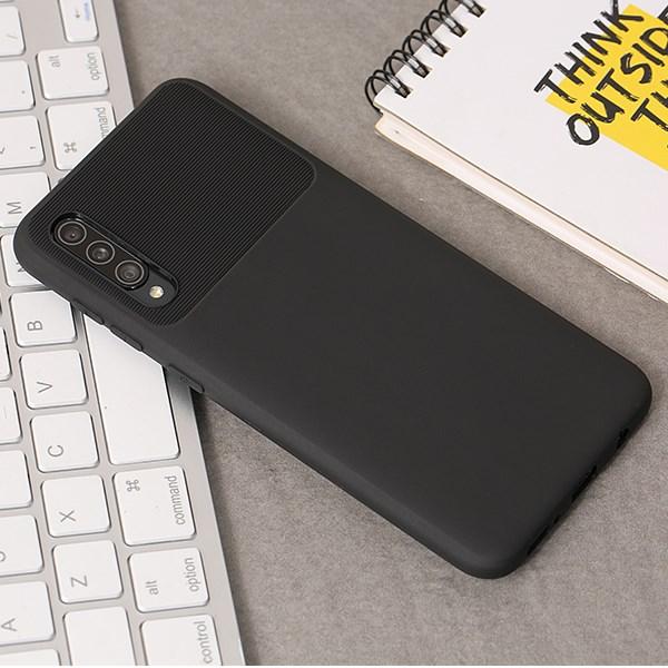 Ốp lưng Galaxy A50/A50S nhựa dẻo MIRIGE JM Đen