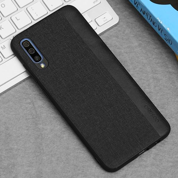 Ốp lưng Galaxy A70 nhựa dẻo Joint PU Case COSANO Đen