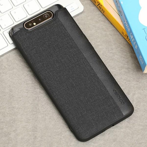 Ốp lưng Galaxy A80 nhựa dẻo Joint PU Case COSANO Đen