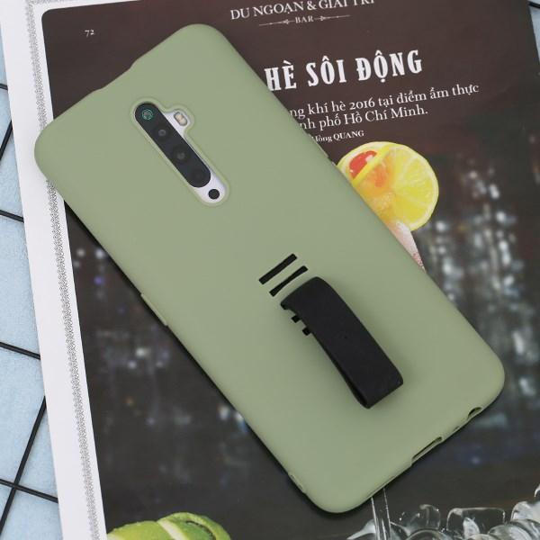 Ốp lưng Oppo reno2 F nhựa dẻo icon JM Mint