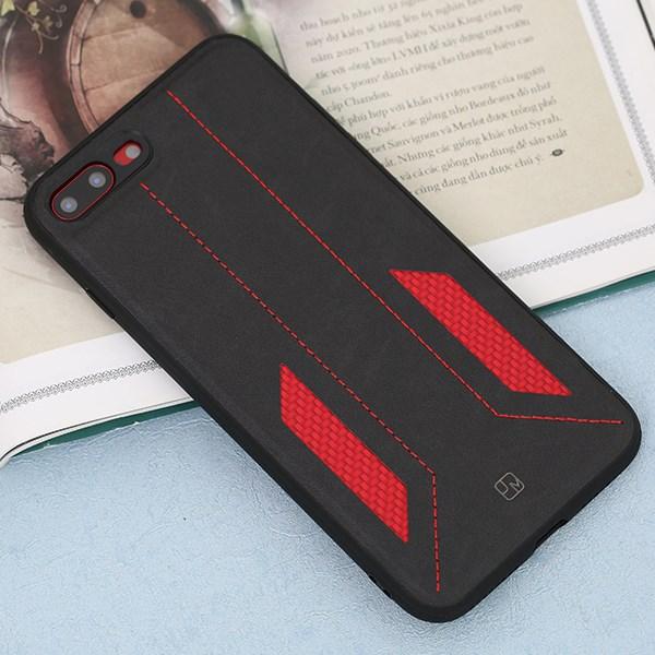 Ốp lưng iPhone 7/8+ nhựa dẻo Racing JM Đen