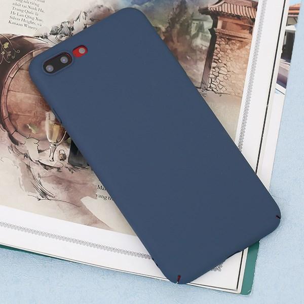 Ốp lưng iPhone 7/8+ nhựa dẻo SAND PC JM Navy