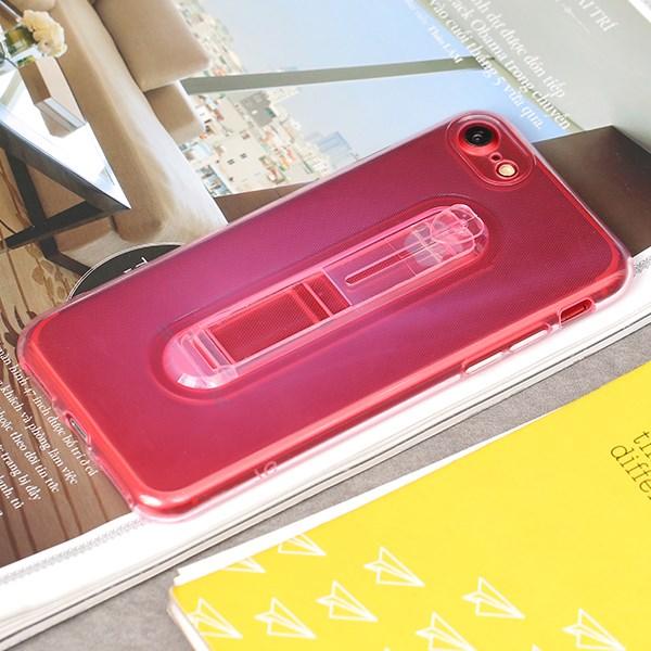 Ốp lưng iPhone 7/8 Nhựa dẻo Clear Kick JM Hồng