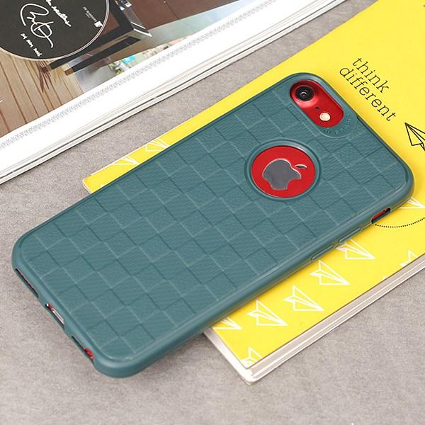 Ốp lưng iPhone 7/8 Nhựa dẻo Portude JM Xanh lá