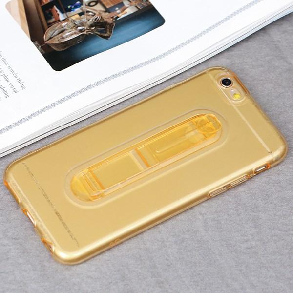 Ốp lưng iPhone 6/6s Nhựa dẻo Clear Kick JM Vàng