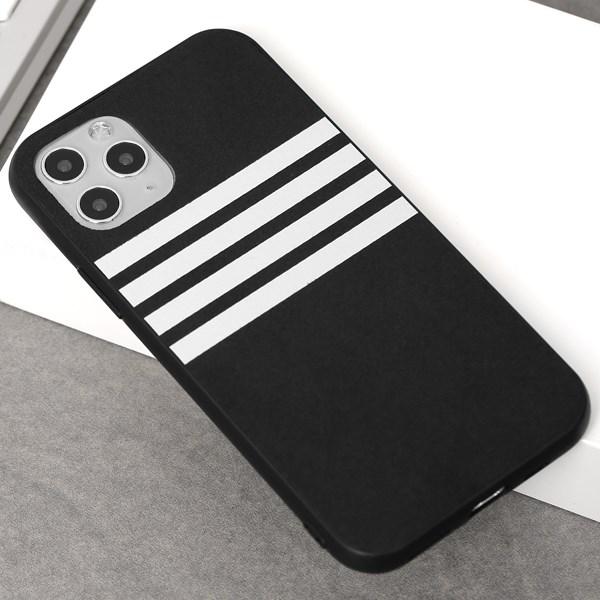 Ốp lưng iPhone 11 Pro nhựa cứng viền dẻo PU Sport OSMIA Xám