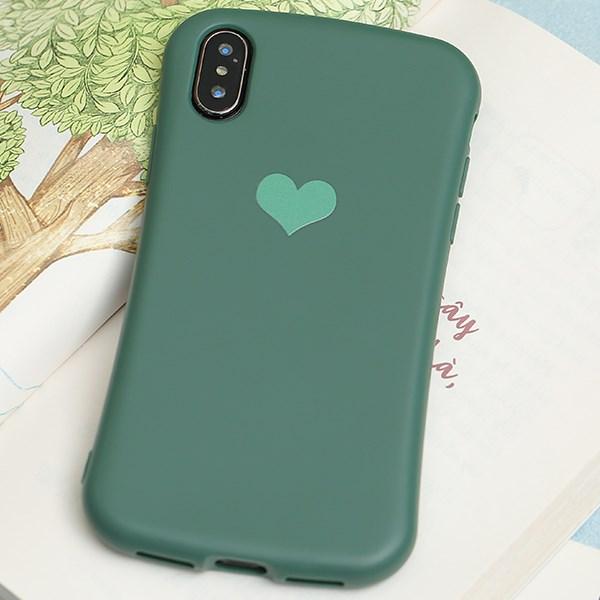 Ốp lưng iPhone X/Xs nhựa dẻo Pattern Corner TPU COSANO Xanh lá