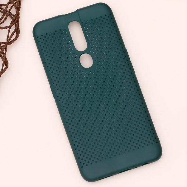 Ốp lưng Oppo F11 pro nhựa dẻo Simo soft JM Xanh