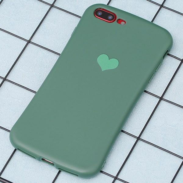 Ốp lưng iPhone 7/8+ nhựa dẻo Pattern Corner TPU COSANO Xanh lá
