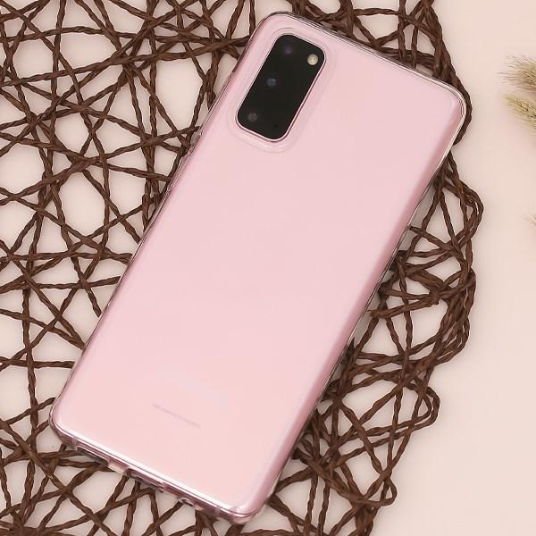 Ốp lưng Galaxy S20 Nhựa dẻo Slim TPU JM Nude