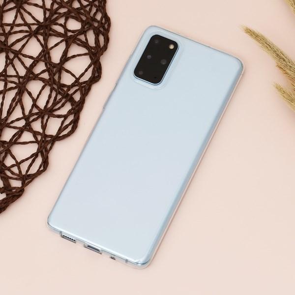 Ốp lưng Galaxy S20+ Nhựa dẻo Slim TPU JM Nude