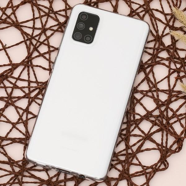 Ốp lưng Galaxy A71 Nhựa dẻo Nake Slim TPU JM Nake slim Nude