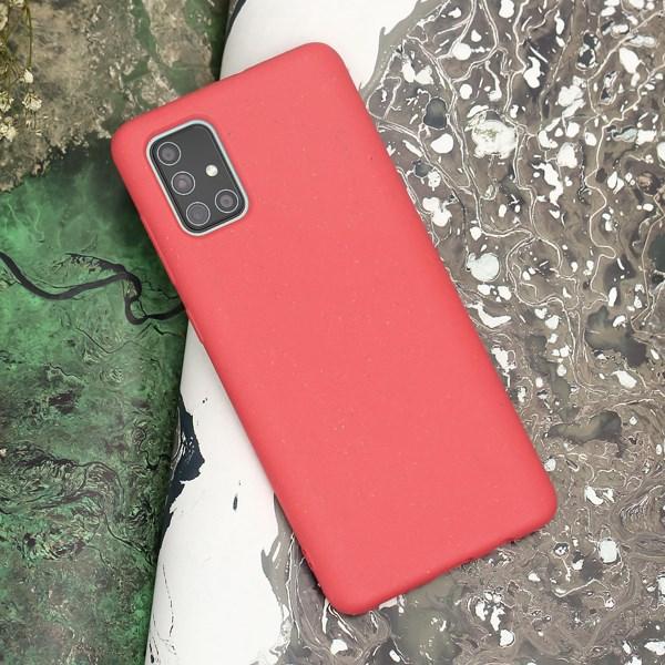 Ốp lưng Galaxy A71 Nhựa dẻo SCRAWEL JM SCRAWEL Peony Hồng Phấn