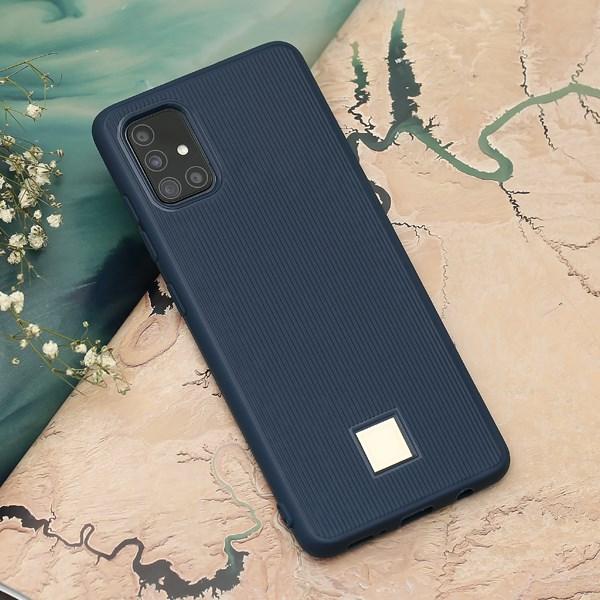 Ốp lưng Galaxy A51/A31 Nhựa dẻo Fila JM TPU Xanh trời