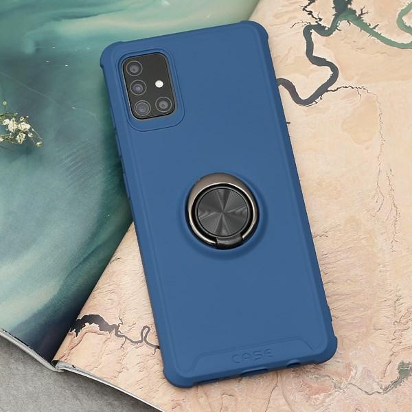 Ốp lưng Galaxy A51/A31 nhựa dẻo Simple Support TPU COSANO Xanh