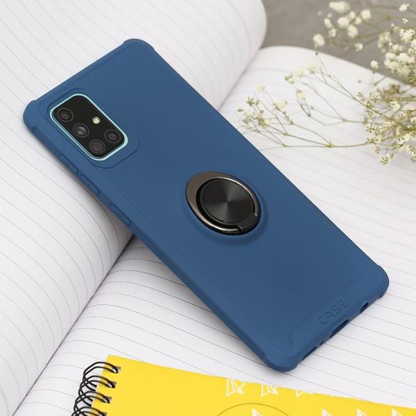 Ốp lưng Galaxy A71 nhựa dẻo Simple Support TPU COSANO Xanh