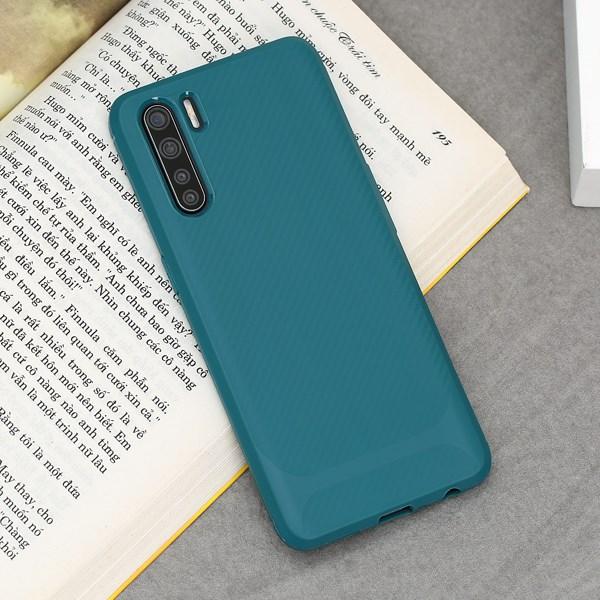Ốp lưng Oppo A91 nhựa dẻo Tail TPU Case COSANO Xanh Teal