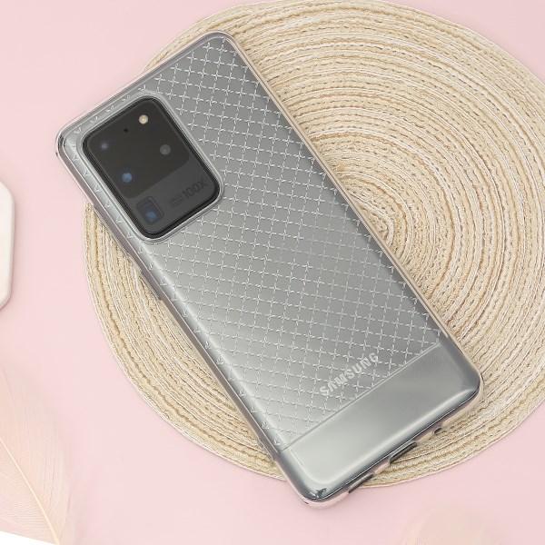 Ốp lưng Galaxy S20 Ultra nhựa dẻo Max X Case COSANO Nude
