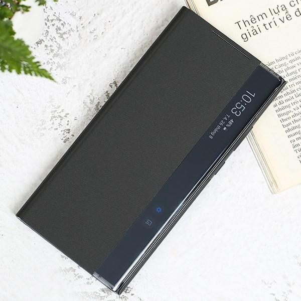 Bao da Galaxy Note 20 Ultra Samsung Nắp gập Clear View Đen