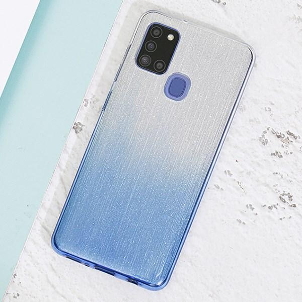 Ốp lưng Galaxy A21s Nhựa dẻo BIBILI JM Navy