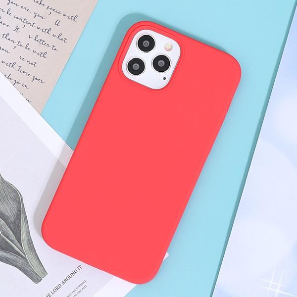 Ốp lưng iPhone 12/ 12 Pro Nhựa dẻo Liquid Sillicone A JM Mẫu đơn
