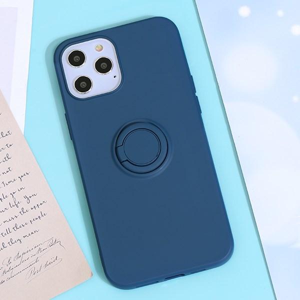 Ốp lưng iPhone 12 Pro Max Nhựa dẻo Ring TKS-LZB07 MEEKER Navy