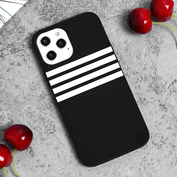Ốp lưng iPhone 12 Pro Max nhựa cứng viền dẻo PU Sport OSMIA Xám