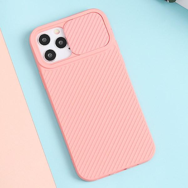 Ốp lưng iPhone 12/12 Pro Nhựa dẻo CARBON CAMO JM Hồng nhạt