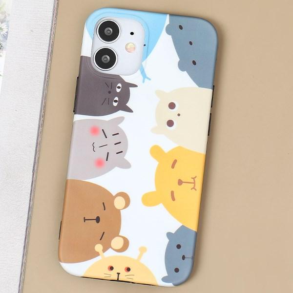 Ốp lưng iPhone 12 Mini nhựa dẻo Matte IMD Wave OSMIA CK-SC20164 Gấu
