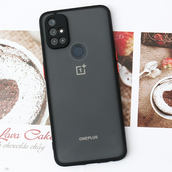 Ốp lưng OnePlus Nord N10 nhựa dẻo Arden OSMIA Đen