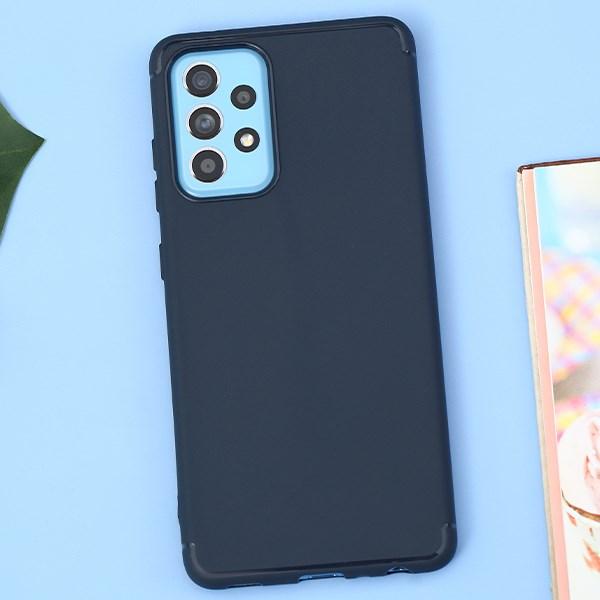 Ốp lưng Galaxy A52 Nhựa dẻo Crosspy JM Xanh đậm