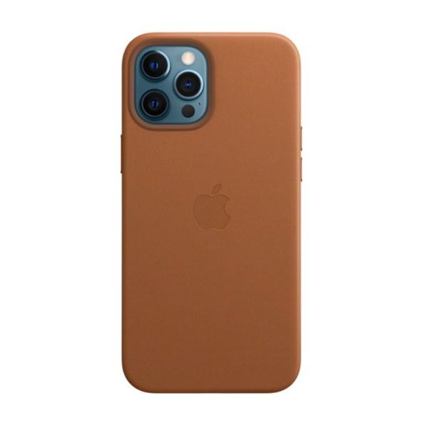 Ốp lưng iPhone 12 Pro Max da Apple MHKL3 Nâu